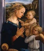 """""""Madonna with Child and two Angels"""""""