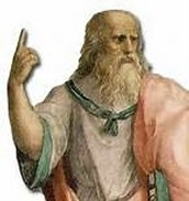Postura típica de Platón