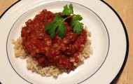 Spiced Lentil and Tomato stew
