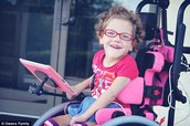 A Girl with Cerebral Palsy