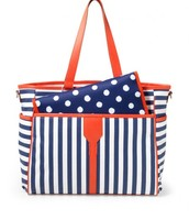 Keep It In the Bag - Navy Stripe