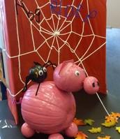 Pumpkin Contest: Mrs. Rohaley's class