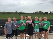 5th Graders Visit MTMS Track Meet