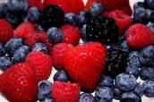 Viel Obst essen