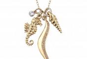 Sunset Beach Charm Necklace