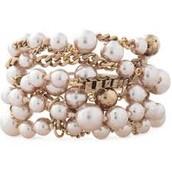 Lucia Bracelet- Pearl. Originally $69, Now $51.75
