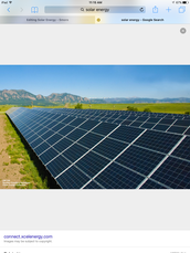 Facts about Solar energy.