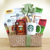 Starbucks Evergreen Gift Basket