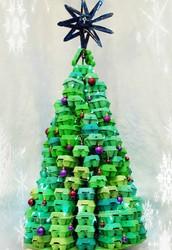 Eco Art Egg Box Christmas Tree