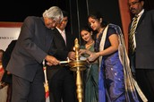 Dr Kalam Inaugurating the event