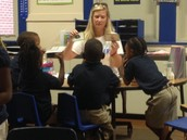 It's Guided Reading time in the Achievement Schools!