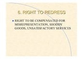Right to redress