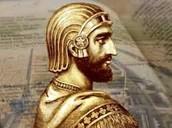 Cyrus rules (Around 550 B.C.)