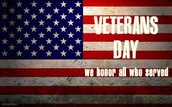 Veteran's Day Celebration & Open House