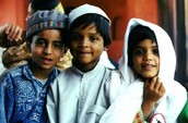 3 Muslim Chidren