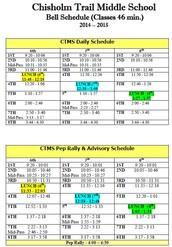 Advisory Schedule