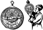 The Astrolabe being used