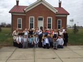 Miss Cook's class travels back in time!