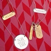 Perfect Gift #1: An Engraved Necklace....
