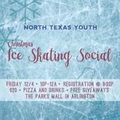 Ice Skating Social  December 4th