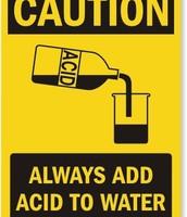 Acid safety
