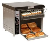 Conveyor belt toaster