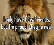 Proud to have friends