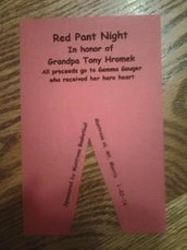 Red Pants Night Varsity Basketball Game This Friday, January 22nd