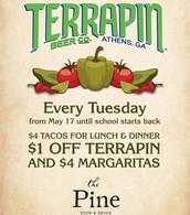Taco Tuesday @ The Pine
