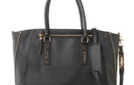 Madison Tech Tote in Black- $158