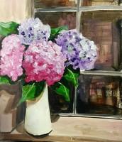 Hydrangeas Summers favorite flower on Tuesday $25.00