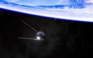 Sputnik 1 in space