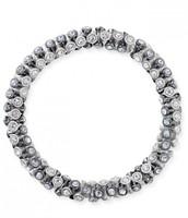 Vintage Twist -silver/hematite
