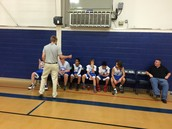 Coach Lucas and the 7/8 Boys