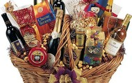 Wine and Cheese Gift Basket