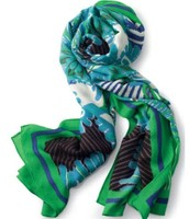 Union Square Scarf - Spring Green