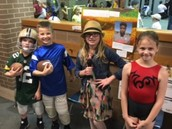 3rd grade Wax Museum- Speaking and listening, research, and choice!