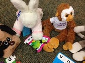 Stuffed Animal Puzzle Time!