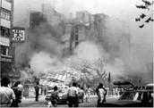 Afectaciones en la Ciudad de México por el sismos de 1985.