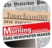 Fake newspaper creator