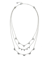 Pave chevron necklace £65