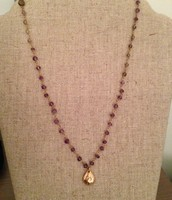 La Folie necklace - Amethyst