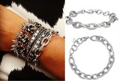 Christina Link Bracelet silver Reg $49 50% sale $25
