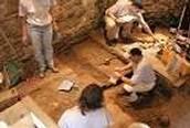 How does archeology provide knowledge of of early human life and its change?