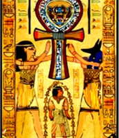 Egyptian Ankh cross of Life