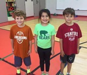 1st graders, success week, and health fitness combined